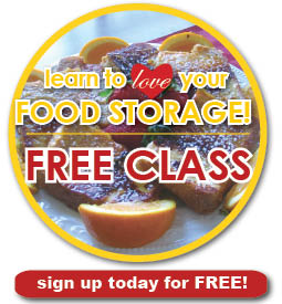 Learn to love your food storage!